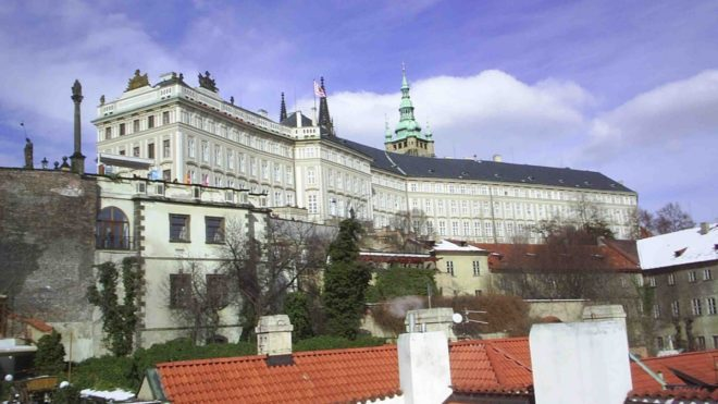 Bâtiment du château de Prague