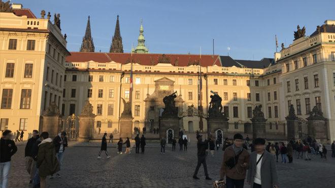 Château de Prague tourisme