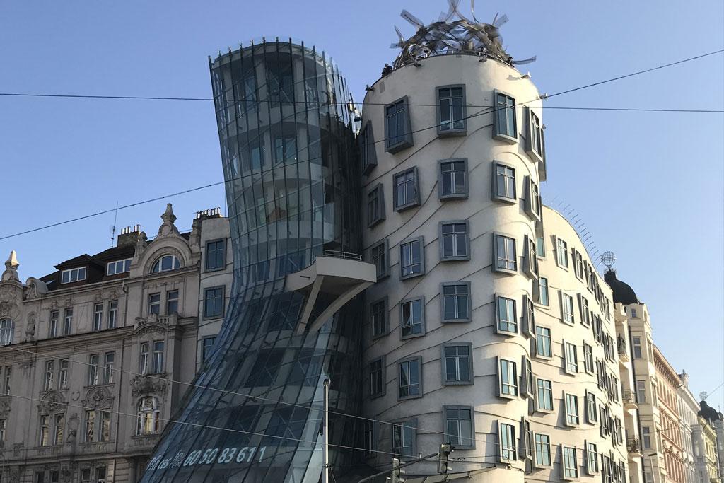 Maison dansante à Prague tourisme