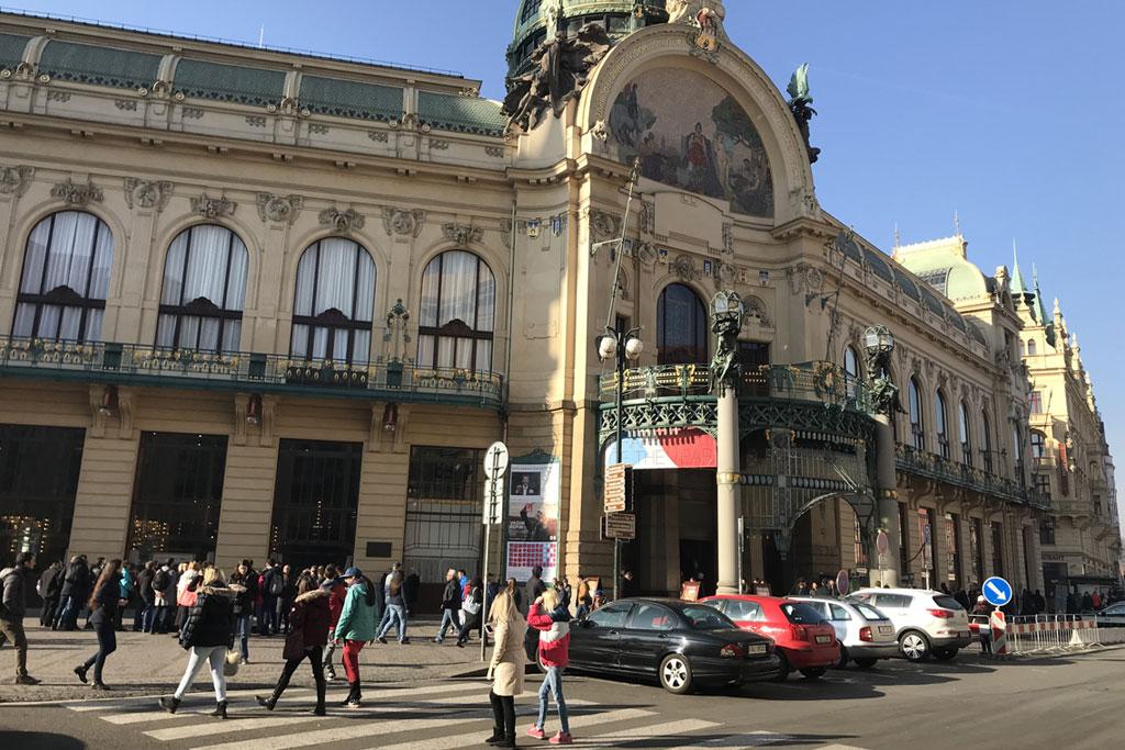 maison municipale à Prague tourisme