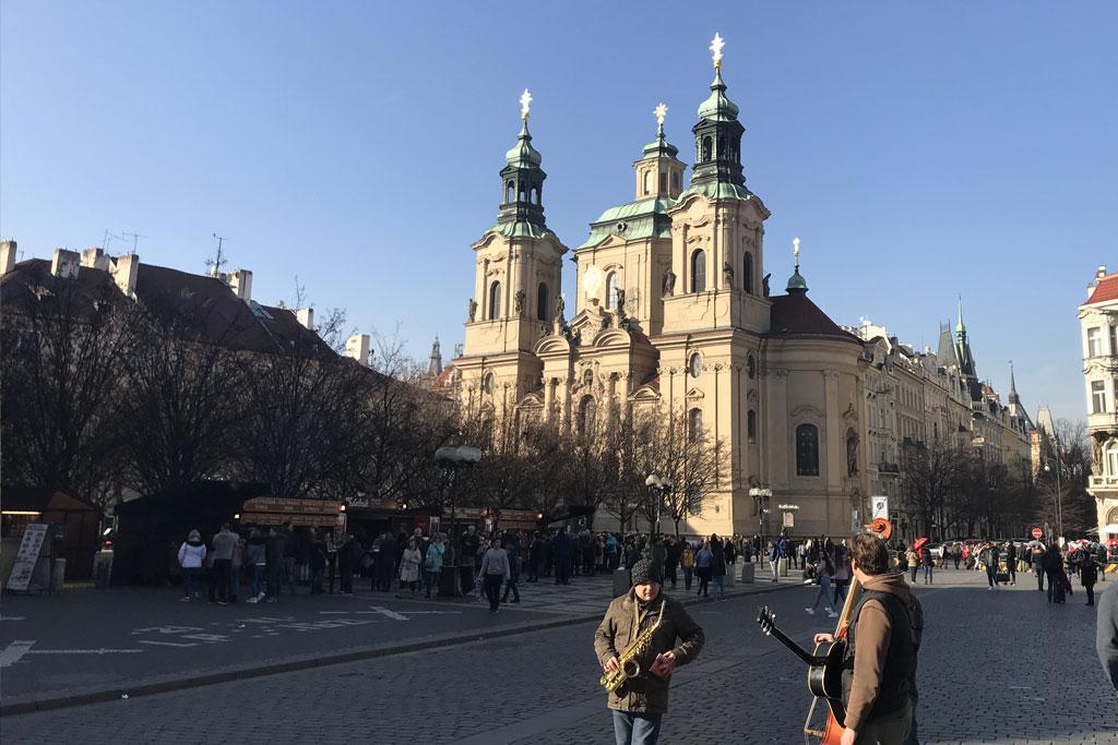 Place de la vielle ville à Prague tourisme