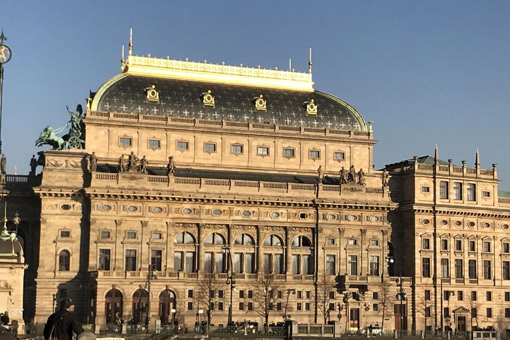 Théâtre national à Prague tourisme
