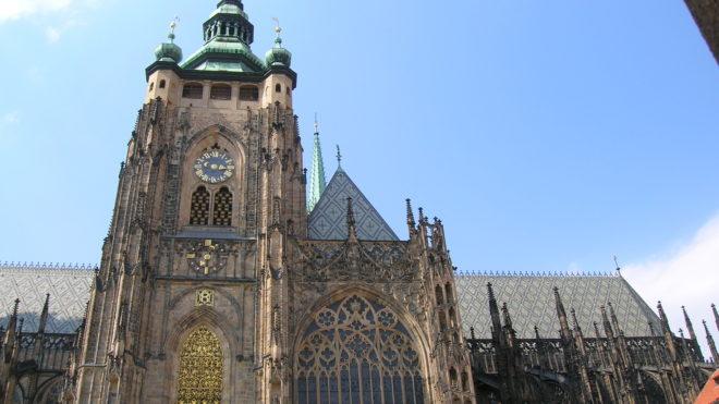 Cathédrale saint guy à Prague tourisme