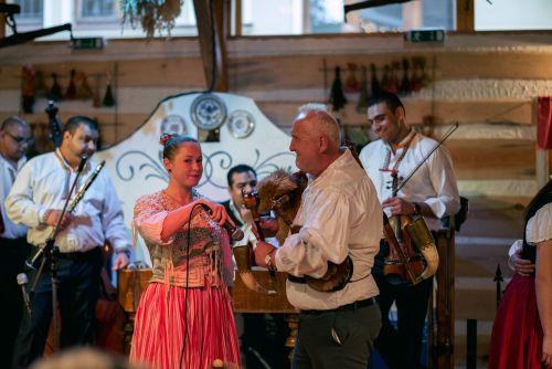 Soirée folklorique à Prague