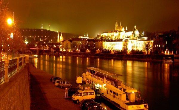 dîner croisière à Prague