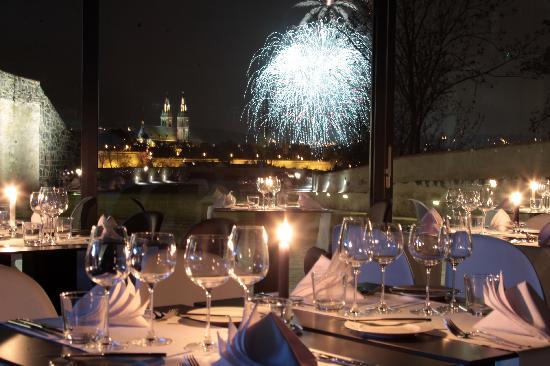 Nouvel an à Prague restaurant